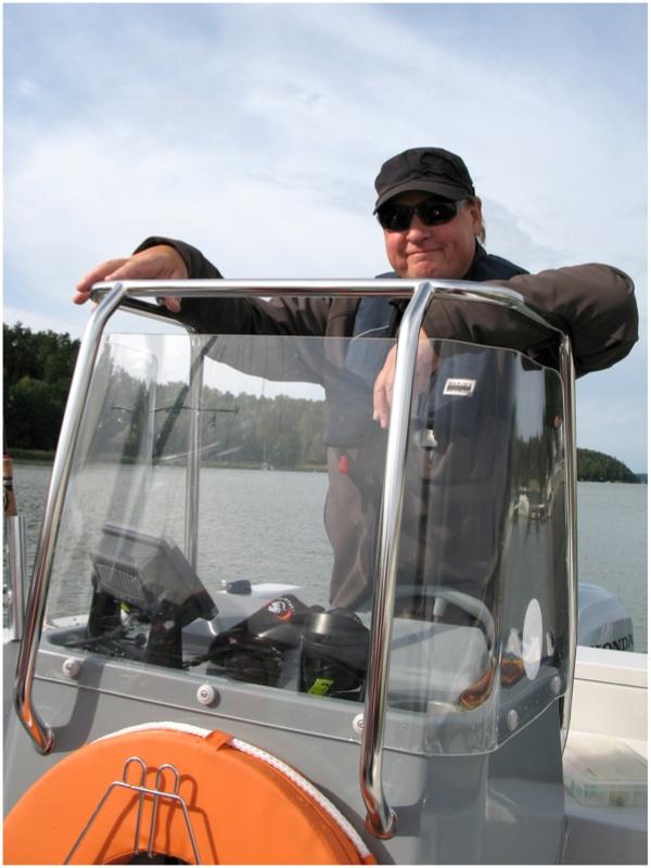 Osaavana oppaanamme toimi Pekka Vuorinen. Kuva: Emmi Harju