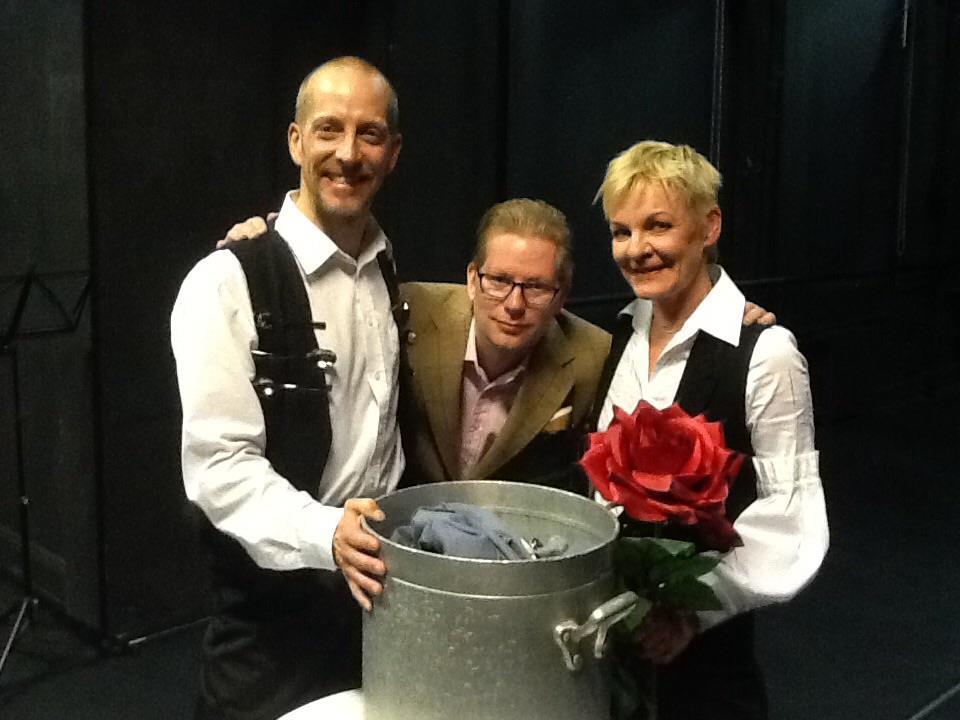 Lassi Sairela, Antti Nurkka ja Eeva Soini asettavat omat lusikkansa turkulaiseen ruokakulttuurin soppaan.