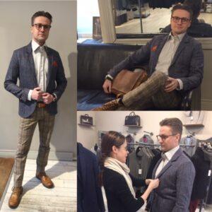 Jos ruudulliset kengät eivät olleet sinun juttusi, valitse kuosi housuihin. Englantilaisen herrasmiehen Charmissa on aavistus myös punk-henkeä. Miehen tyyli on tottakai miehen oma valinta, mutta apua voi ottaa myös tyylitajuisilta naisilta.